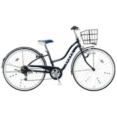 【送料無料】ブリヂストン26型 子供用自転車 ワイルドベリー(スターネイビー/シングルシフト)...