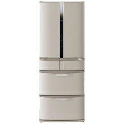 【送料無料】日立《基本設置料金セット》6ドア冷蔵庫 「真空チルド」(475L) R-F480E-T ソフ...