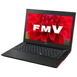 【送料無料】富士通FMV LIFEBOOK UH55/T [Office付き] FMVU55TR (2015年最新モデル・ガーネットレッド) [FMVU55TR]