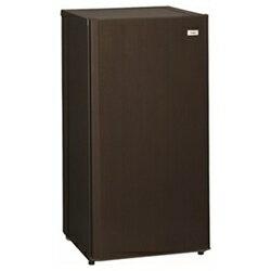 【送料無料】ハイアール《基本設置料金セット》1ドア冷凍庫(100L)JF-XP1U10E-MDダークウッド[JFXP1U10EMD]