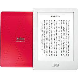 KOBO電子書籍リーダー kobo glo(フロントライト内蔵・Wi-Fiかんたん設定対応モデル・ピンクサンセット) N613-KJP-P [N613KJPP]【動画有り】