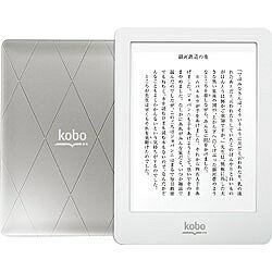 KOBO電子書籍リーダー kobo glo(フロントライト内蔵・Wi-Fiかんたん設定対応モデル・シルバー...