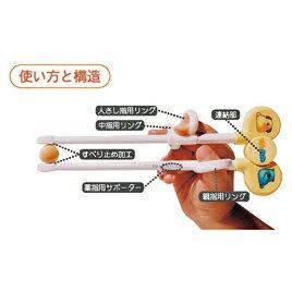 エジソンのお箸 左手用 オレンジ