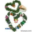 クリスマスリース作り あす楽対象[メール便:100](紙工作・パーツ 工作材料 クリスマス 飾り付け)