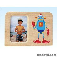 木彫>木彫写真立て>まねき板 フレーム型 ヨコ(しな材)【after20130610】まねき板 フレーム型 ...