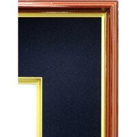 色紙額縁4152N色紙(242x273mm)紺ガラス仕様【あす楽対象】【フレーム/寄せ書き/サイン/額装】