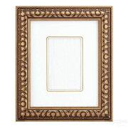 インチ額縁9006(255x203mmマット窓サイズ143x93mm)ゴールドガラス仕様