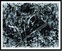 アートフレーム ジャクソン・ポロック Jackson Pollock Number 33,1949(Silkscreen) ijp-14391 絵画 壁掛け おしゃれ