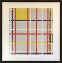アートフレーム ピエト・モンドリア Piet Mondrian New York City,3 ipm-61650 絵画 壁掛け おしゃれ