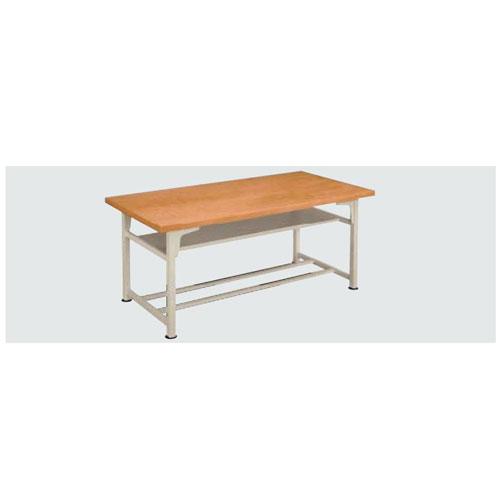 生徒用工作台 AMT-180-K 高670mm [メール便不可](備品 美術机・工作台・椅子)(個人宅配送不可)