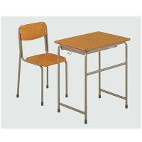 机・椅子セットAKGZ-2450-BDT1セット_5号_送料無料[メール便不可](備品_美術机・工作台・椅子)