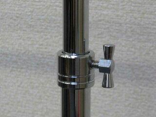 ハンガーラックプロS600イメージ3・高さ調整はネジ式で簡単!