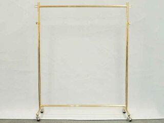 ハンガーラックプロS900オールゴールドイメージ1・上品なゴールドメッキ加工