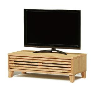 送料無料 104幅 テレビボード レッドオーク無垢材 ナラ オイル塗装 日本製 国産 TVボード テレビ台