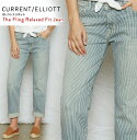 【 Current Elliott 】カレントエリオット レディース ボトムス ジーンズ【The Boyfriend jeans】【送料無料】【正規品】