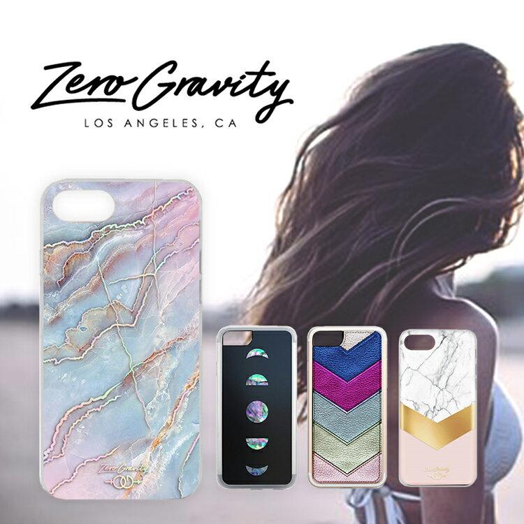 【 ZERO GRAVITY 】【メール便・送料無料!!】 iPhone 7 / 8 Case ゼロ グラビティ USA LAブランド モバイルカバー アイフォン スマホケース 大理石 ストーン Mystic ミスティック インスタ セレブ zg case
