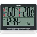タニタ デジタル 温湿度計 おしゃれ 温度計 湿度計 湿度温度計 温度湿度計 ブラック 黒 ギフト 送料無料