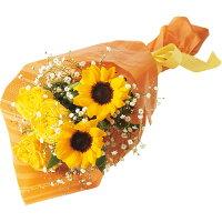 父の日 ギフト 父の日 バラとひまわりの花束 【メーカー直送】 【父の日専用商品】