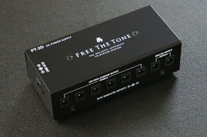 【12月上旬入荷予定】Free The Tone PT-3D DC POWER SUPPLY