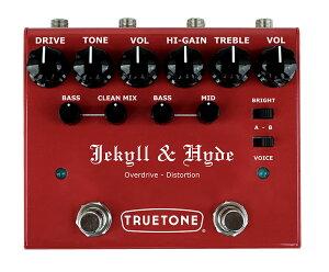 【メーカーお取り寄せ品】TRUETONE V3 Jekyll & Hyde: オーバードライブ + ディストーション