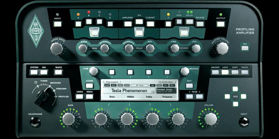 Kemper Profilling Amplifier POWER Head(パワーアンプ内蔵タイプ)