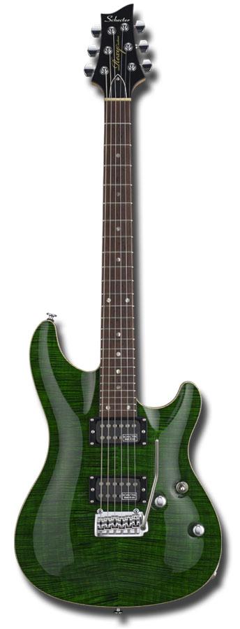 ギター, エレキギター SCHECTER RX-2-24-CTM-VTR BGRN