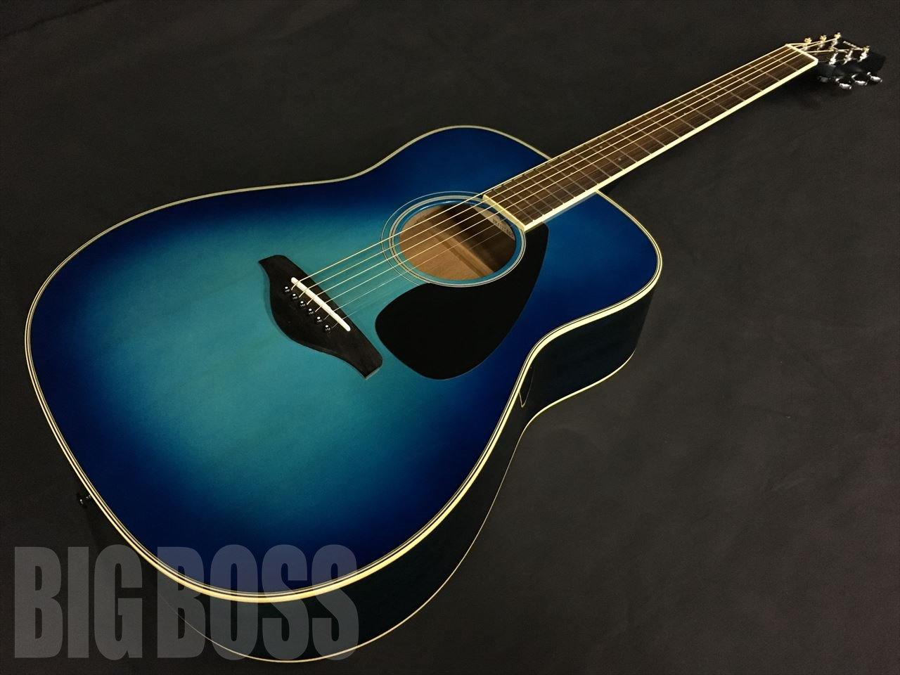 ギター, アコースティックギター YAMAHA FG820 Sunset Blue