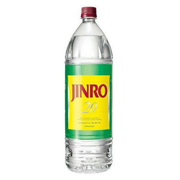 【本州のみ 送料無料】眞露 JINRO 20度 1800ml×1ケース(6本)【ジンロ 真露 JINRO】《006》