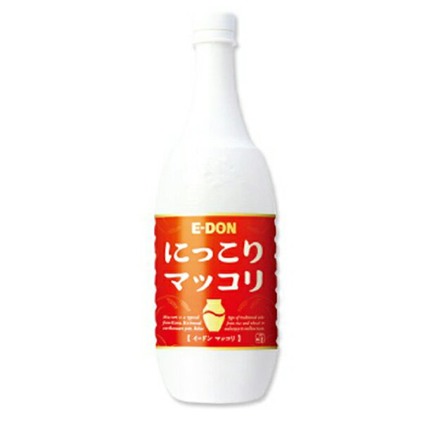 【マッコリ】イードン 二東 E-DON マッコリ 6度 1000mlペット【どぶろく】【韓国伝統の文化酒】
