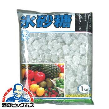 【20袋】氷砂糖まとめ買い【本州のみ送料無料】クリスタル氷砂糖2ケース/1Kg×20個中日本氷糖株式会社《020》