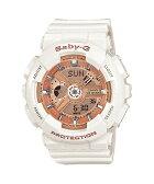 【正規品】CASIO カシオ Baby-G ベビーG ホワイト レディース腕時計 BA-110-7A1JF