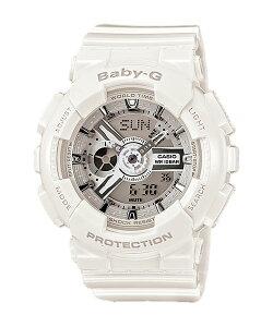 国内正規品CASIOカシオBaby-GベビーGホワイトレディース腕時計BA-110-7A3JF