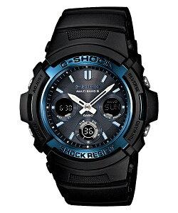 国内正規品CASIOカシオG-SHOCKGショック電波ソーラーメンズ腕時計AWG-M100A-1AJF