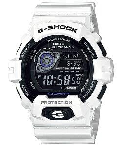 国内正規品CASIOカシオG-SHOCKGショック電波ソーラーホワイトメンズ腕時計GW-8900A-7JF