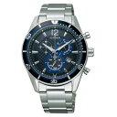 CITIZEN ALTERNA シチズン オルタナ クロノグラフ エコドライブ時計 メンズ腕時計 VO10-6741F