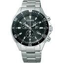 CITIZEN シチズン ALTERNA オルタナ エコドライブ時計 クロノグラフ メンズ腕時計 VO10-6771F
