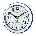 RHYTHMリズム時計クロック掛け置き兼用時計強化防滴・防塵型4KG711DN04