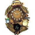 RHYTHMリズム時計クロックとなりのトトロ掛け時計キャラクター時計メロディ付トトロM837N4MJ837MN06