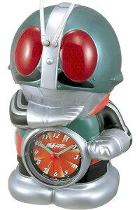 RHYTHMリズム時計クロック目覚まし時計音声アラームキャラクター時計仮面ライダー4SE502RH05