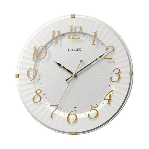CITIZEN シチズン リズム時計 クロック 電波掛け時計 8MY537-018