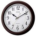 RHYTHMリズム時計クロックフィットウェーブコート電波掛け時計8MYA25SR06
