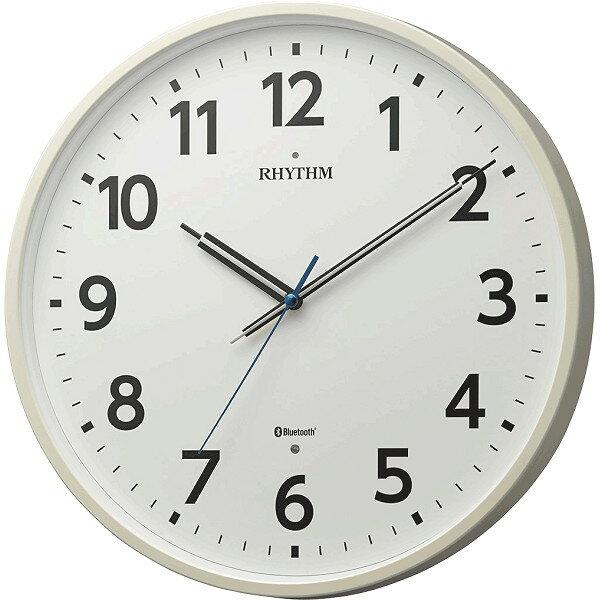 置き時計・掛け時計, 掛け時計 RHYTHM M41 Bluetooth 8MYA41SR03