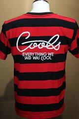 COOLS クールス ボーダー半袖Tシャツ        COOLBROS クールブロス      ロックンロール  ハーレー バイカ ー