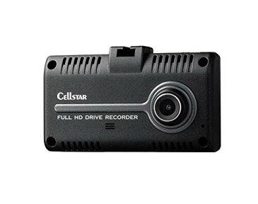 セルスタードライブレコーダー CS-31F バックカメラ接続 前後カメラ 日本製 ナイトビジョン搭載