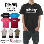 THRASHERスラッシャーTシャツメンズ大きいサイズSKATEMAG(4色)
