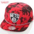 ミッチェル&ネス キャップ MITCHELL&NESS スナップバック 帽子 メンズ レディース BROOKLYN NETS ブルックリン ネッツ楽天カード分割