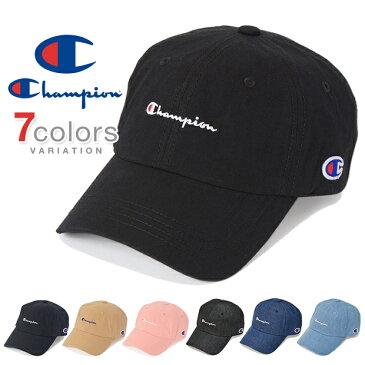 チャンピオン キャップ ローキャップ デニム コットン メンズ レディース CHAMPION 帽子 ロークラウン LOW CAP GOLF ゴルフ ストラップバック STRAPBACK WASHED DAD あす楽