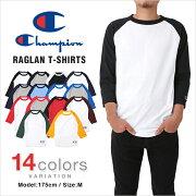 チャンピオン Tシャツ ラグラン ベースボール レディース
