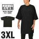 プロクラブ Tシャツ PRO CLUB ヘビーウェイト HEAVYWEIGHT メンズ ブラック 3XL ビッグサイズ 大きいサイズ