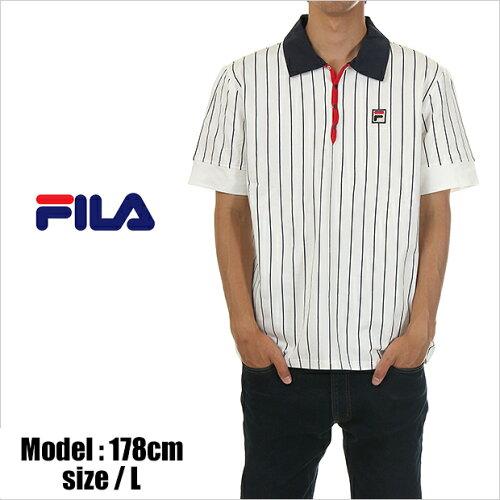ポロシャツ フィラ FILA USAモデル 復刻モデル VINTAGE ヴィンテージ メンズ 大きいサイズ